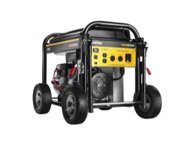 BRIGGS & STRATTON 30554 Portable Generator,Rated Watts5000,342cc G0472495