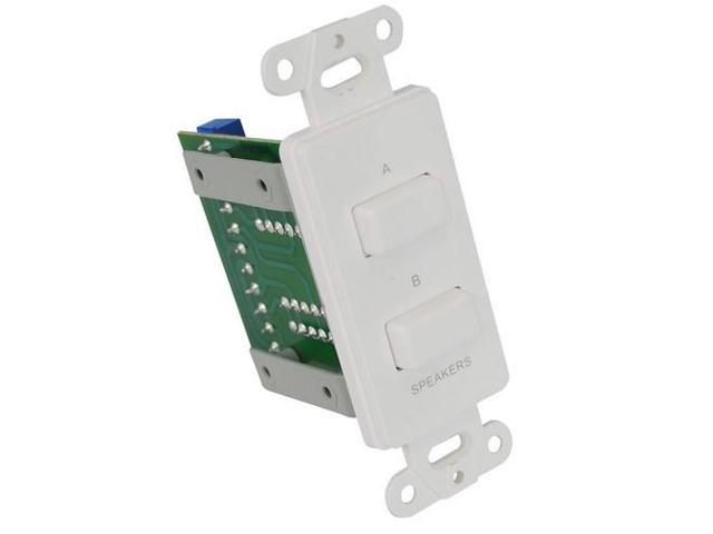Pyle In Wall A/B Source Selector Switch PVCS2