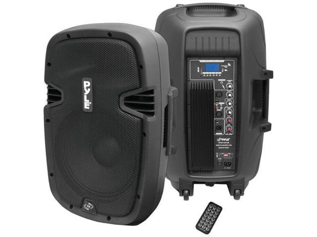Pyle PPHP1237UB Powered Speaker With MP3 Bluetooth Record Function