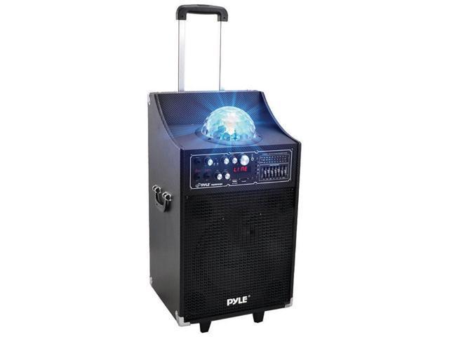 Pyle PSUFM1049A 600 Watt Disco Jam Bluetooth 2-Way Pa Speaker System