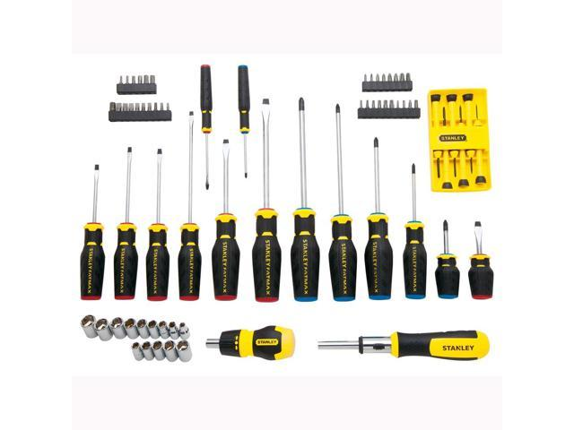 stanley fmht62015 fatmax 70pc screwdriver set. Black Bedroom Furniture Sets. Home Design Ideas