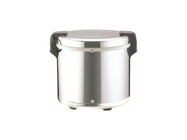 Welbon 110 Cups Stainless Steel Commercial Electronic Rice Warmer, WRS-2100S-05