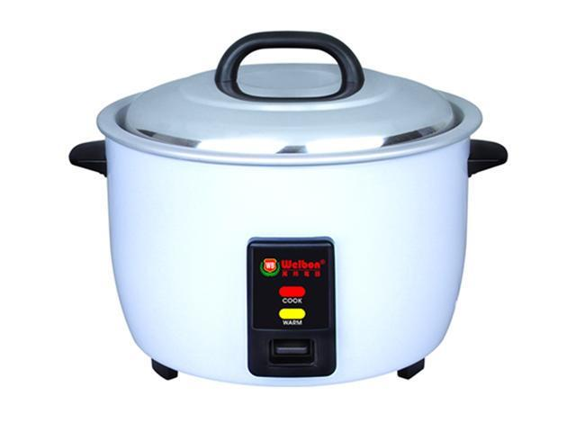 Welbon 30 Cups Electric Rice Cooker Nonstick Inner Pan WRC-1060W. ETL & UL Approved