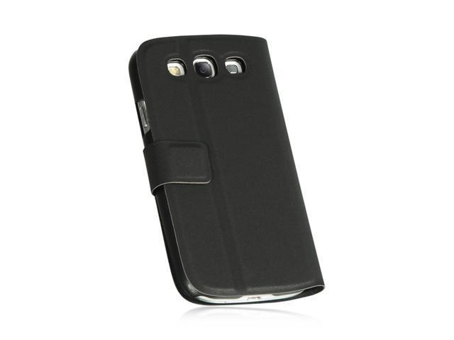 Black Pouch Case Stand for Samsung Galaxy S III / S3 (i747/L710/T999/i535/R530)