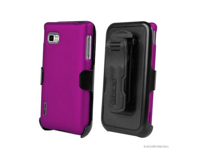 LG phone case for lg optimus f3 : ... Phone Case Holster Kombo with Screen Protector for LG Optimus F3 P659