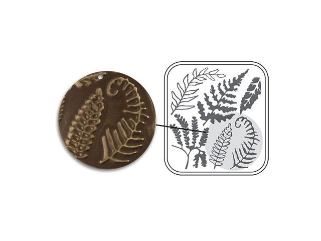 Vintaj DecoEmboss Die For Sizzix Bigkick Machine - Fern Fronds