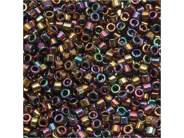 Delica Seed Bead 15/0 Metallic Lt Bronze Iris Dbs023 4G