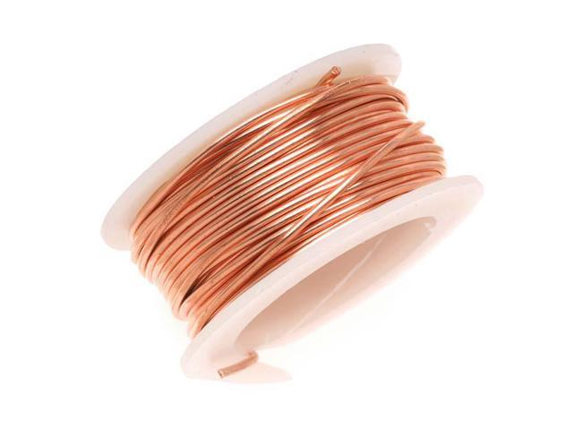 Artistic Wire Bare Copper Craft Wire 24 Ga - 10 Yds