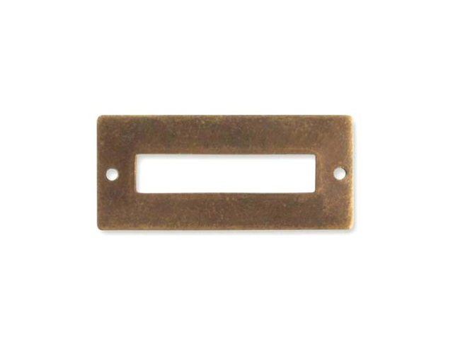 Vintaj Brass Blank Name Plate Connector Link 32mm (1)