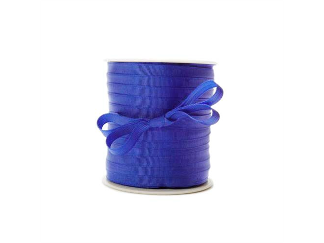 Scrapbooking Grosgrain Ribbon 3/8 Inch Royal Blue/5 Yds