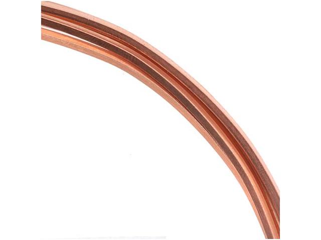Solid Copper Wire 14 Gauge Square Dead Soft 1 Oz / 3Ft