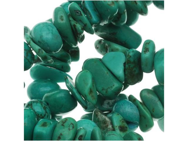 Turquoise Nuggets Chips Beads 5-8mm/ 15 Inch Strand