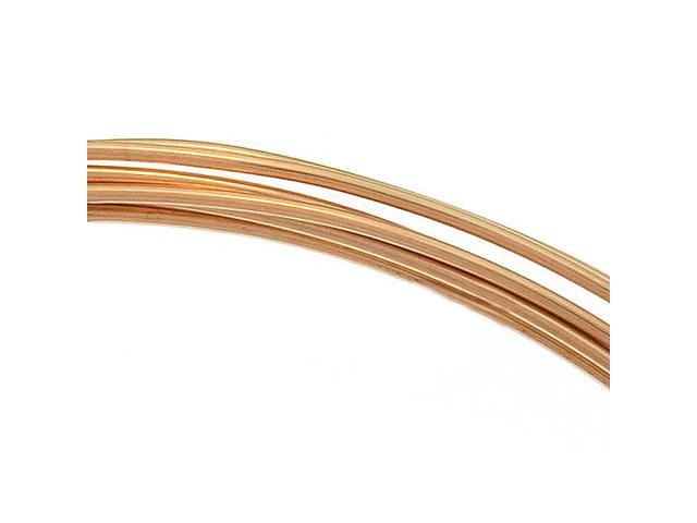 14K Gold Filled Wire 22 Gauge Round Dead Soft 5 Ft