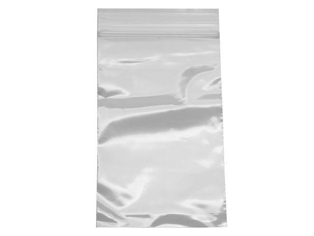 100 Self Sealing Plastic Bags Clear - 3X5 Inch