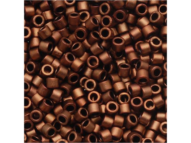 Delica 11/0 Seed Bead Mat Bronze/Gold Metal Db1051 7.2G