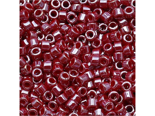 Delica Seed Bead 11/0 Op. Cadillac Red Luster Db1564 7.2 Grams