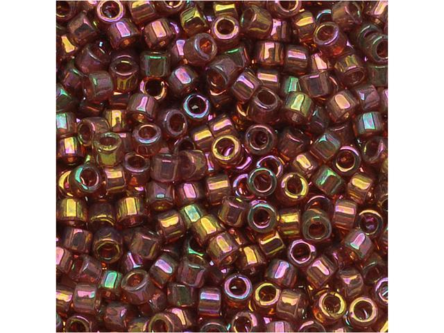 Miyuki Delica 11/0 Seed Bead Gold Red Luster Db103 7.2G