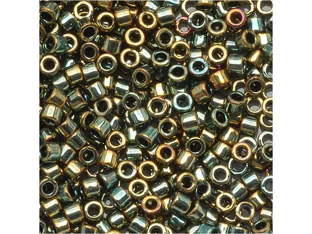 Delica 11/0 Seed Bead Metallic Green Bronze Db024 7.2Gr