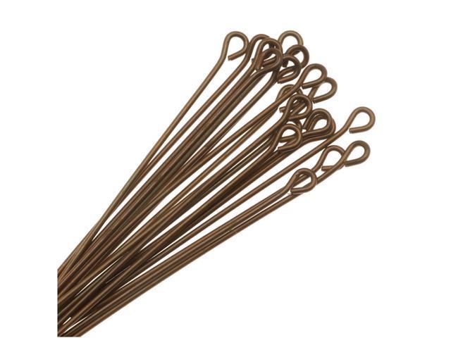 Vintaj   Natural Brass Open Eye Pins 21 Gauge 1.5 In (20)