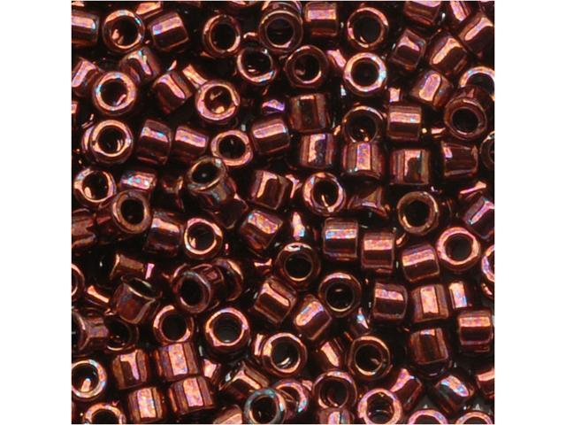 Delica Seed Bead 10/0 Metal Raspberry Mauve Dbm0012 8Gr