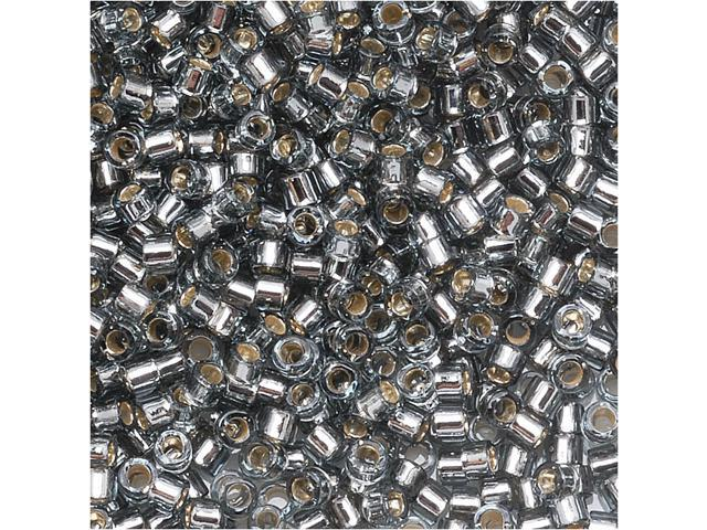 Delica Seed Bead 15/0 Silver Lined Grey Dbs048 4Gr