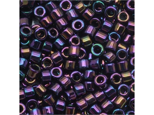 Miyuki Delica Seed Beads 10/0 Purple Iris Dbm0004 8 Gr