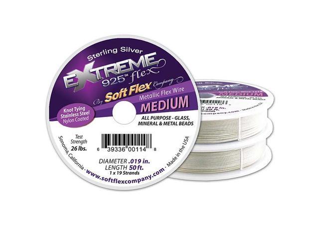 Soft Flex, Extreme Flex 19 Str Medium Beading Wire .019