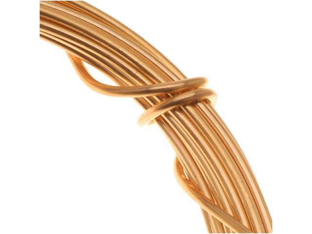 Gold Plated Copper German Bead Wire 20Ga (6M/19.6Ft)