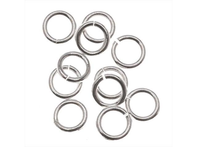 Silver Filled 4mm Open Jump Rings 21 Gauge (20)