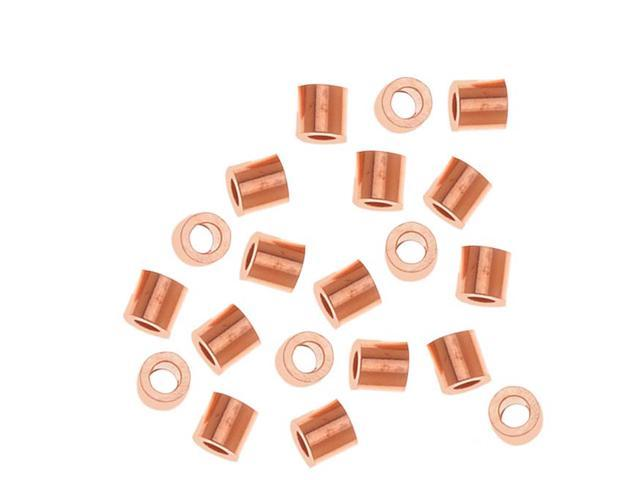 Real Copper Crimp Beads 2 X 2mm (50)