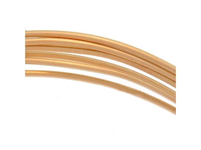 14K Gold Filled Wire 20 Gauge Round Half Hard 5 Ft