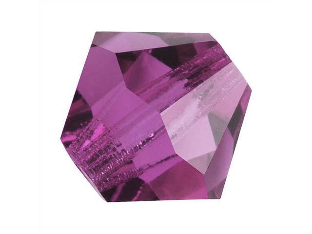 Preciosa Czech Crystal Bicone Beads 4mm 'Amethyst' /50