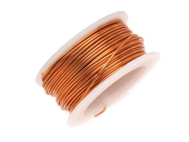 Artistic Wire, Copper Craft Wire 26 Gauge Thick, 15 Yard Spool ...