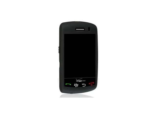 Black Protective Silicone Cover Case For BlackBerry Storm 9500 9530