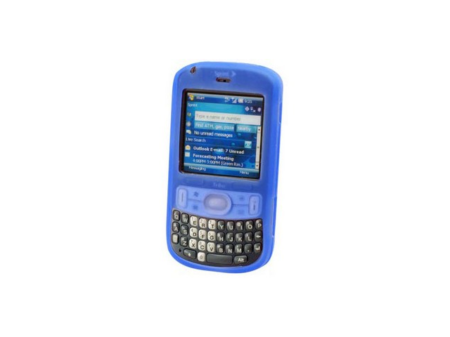 Blue Silicone Protective Cover Case For Palm Treo 800w