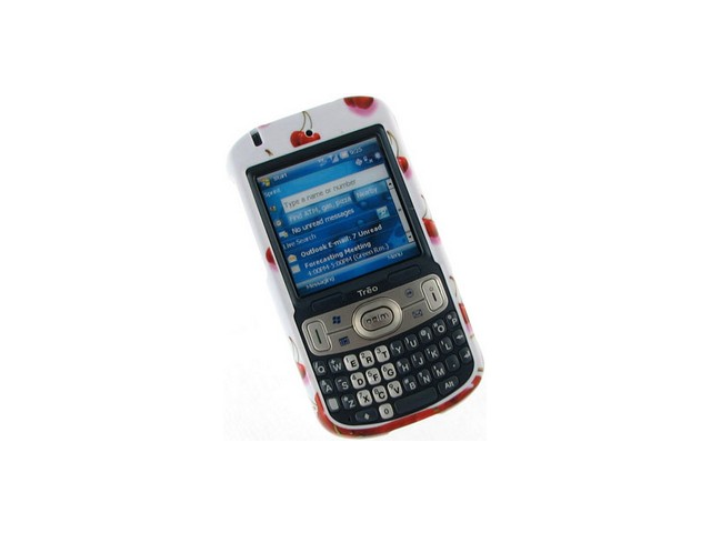 Solid Plastic Phone Design Cover Case Cherry For Palm Treo 800w