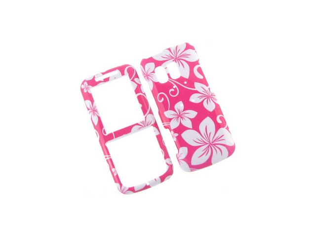 Solid Plastic Phone Design Cover Case Pink Hawaoo For Samsung Messager R450