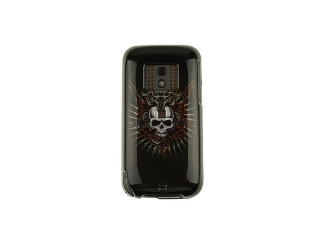 Snap On Plastic Design Phone Cover Case Cross Skull For Sprint Verizon HTC Touch Pro 2