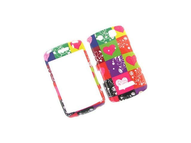 Durable Plastic Phone Design Cover Case Color Love For BlackBerry Storm 9530 9500