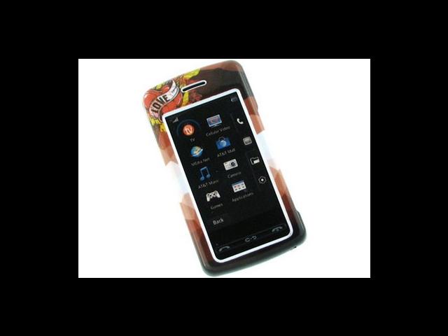Reinforced Plastic Phone Design Cover Case Love Tattoo For LG Vu CU920