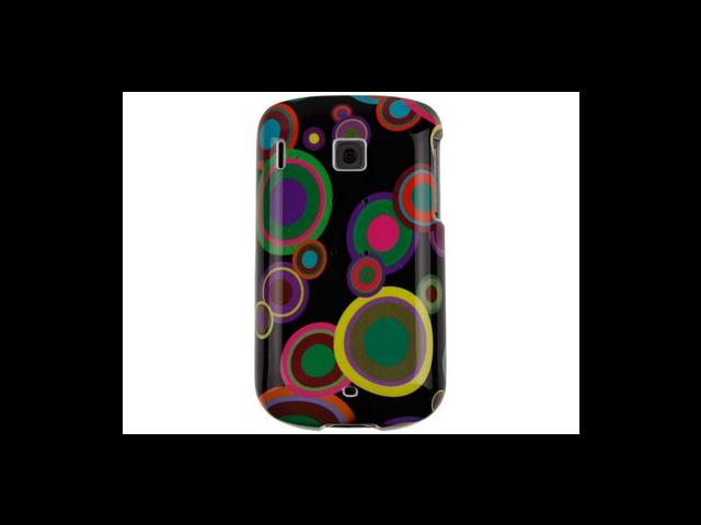 Hard Plastic Phone Design Cover Case Groove Bubble and Black For Verizon Wireless HTC Ozone XV6175