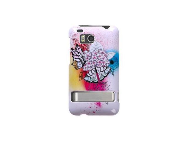 Hard Plastic Phone Design Cover Case Butterfly Paradise For HTC Thunderbolt