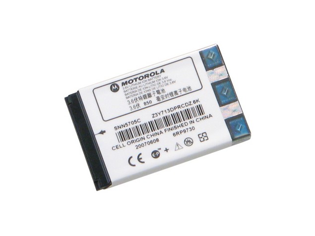 Original Motorola 800mAh Lithium Li-Ion Standard Battery OEM SNN5705C for Motorola i35s V60v i285 i860 i30sx