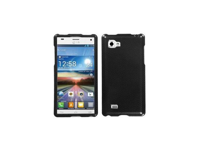 For P880 Optimus 4X HD Carbon Fiber Hard Snap On Phone Protector Cover Case