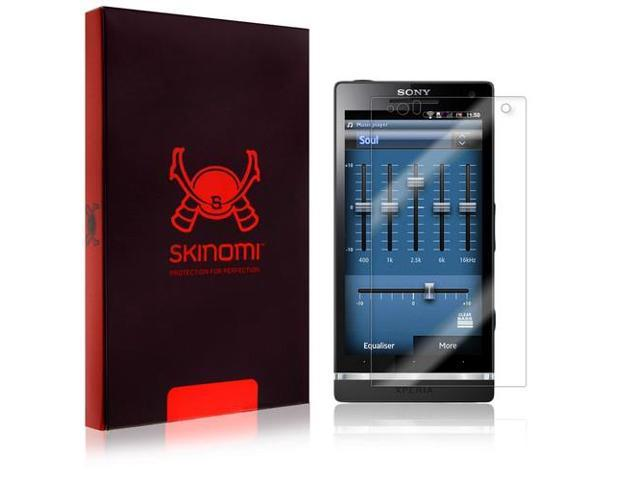 Skinomi Transparent Screen Protector Film Shield for Sony Ericsson Xperia S