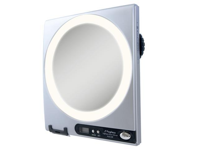 Zadro Z850 Fogless LED Surround Light Technology 1X - 5X Shower Mirror