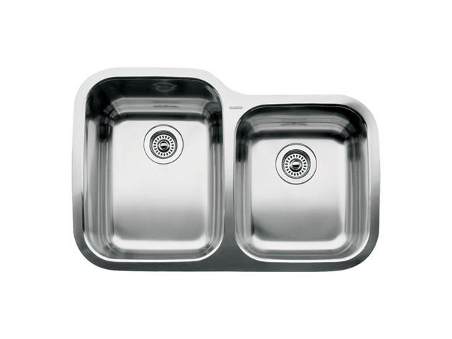 Blanco 440234 Supreme 1-3/4 Basin Undermount Stainless Steel Kitchen ...