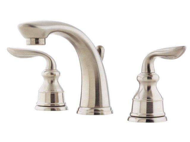 8 In Faucet : Pfister F049CB0K Avalon 8-In Widespread Lavatory Faucet, Brush Nickel ...