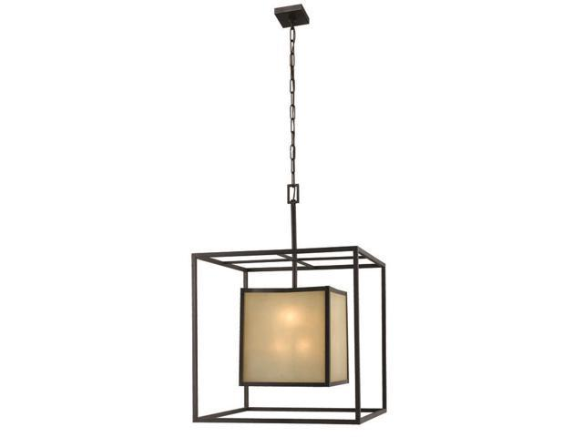World Imports 4113-55 Hilden Clct 8-Lgt Hanging Pendant, Aged Bronze