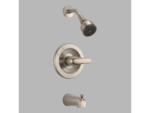 Peerless-P18770-BN Classic, Tub and Shower Complete, Brushed Nickel